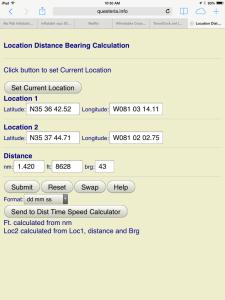 Location Calculation
