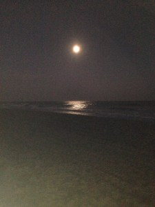 Moon Rise in Myrtle Beach