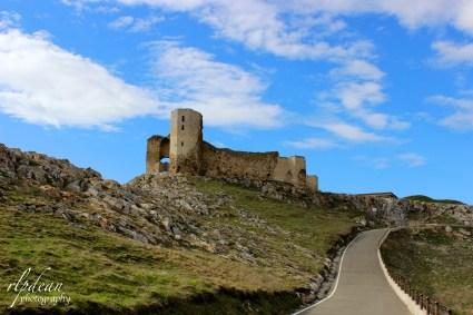 Fortress near Babadag - Romania.