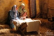 "Mary, Joseph, and Baby Jesus at Gateway Church's ""Bethlehem LIVE!"" 2014."