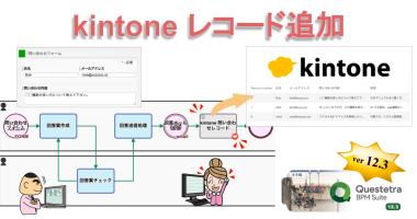 クラウド型ワークフローv12.3、kintone 連携を追加