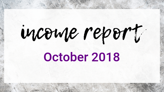 October 2018 Income Report on Quest for $47