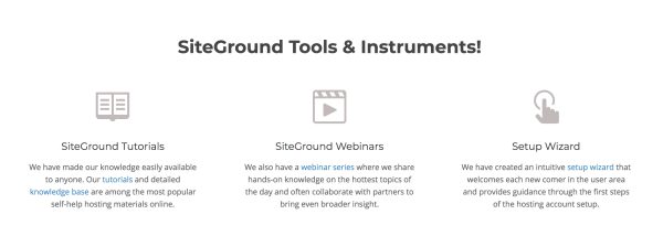 Siteground Tools