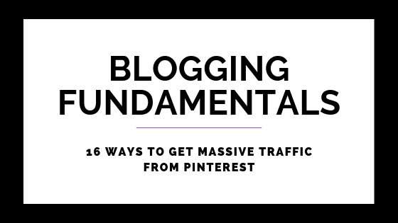 Pinterest Success: 16 Ways To Get Massive Traffic From Pinterest