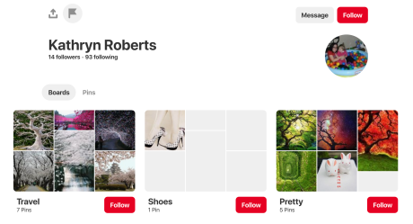 Pinterest Success: 16 Things You Need To Get Massive Traffic From Pinterest Personal Account Screenshot