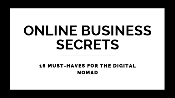 16 Must-Haves For The Digital Nomad