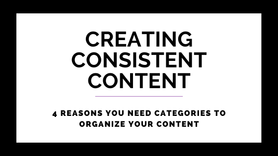 4 Reasons You Need Categories To Organize Your Content