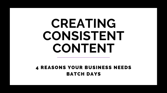 4 Reasons Your Business Needs Batch Days