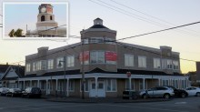 Storybrooke Library, minus the clock tower