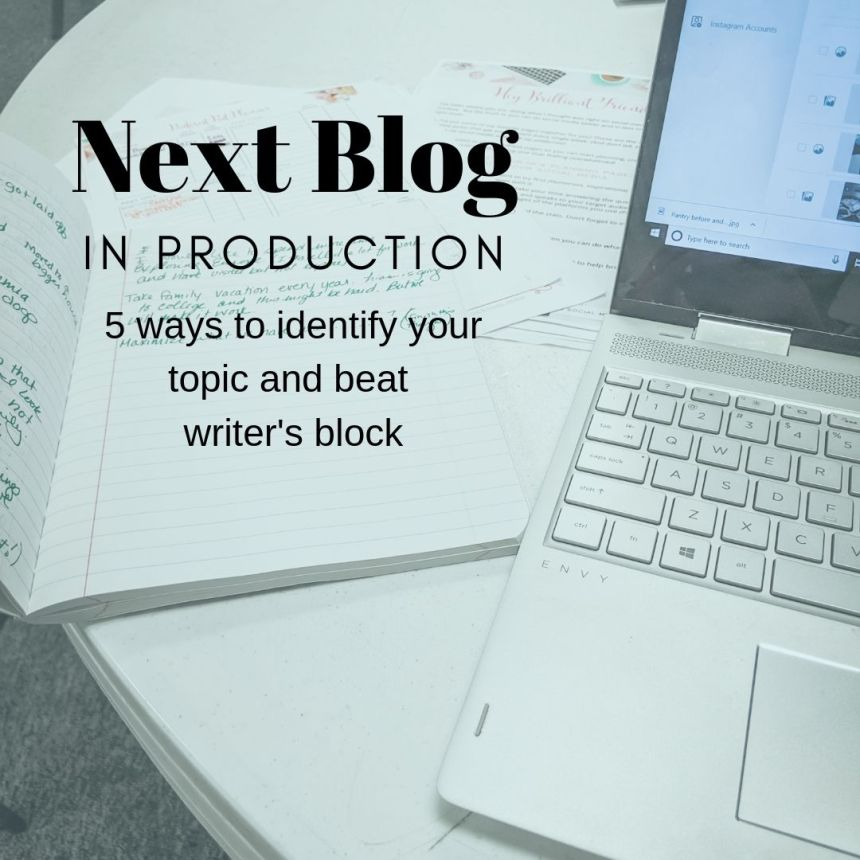 how do you pick your blog topic