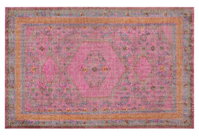 OKL orange rug