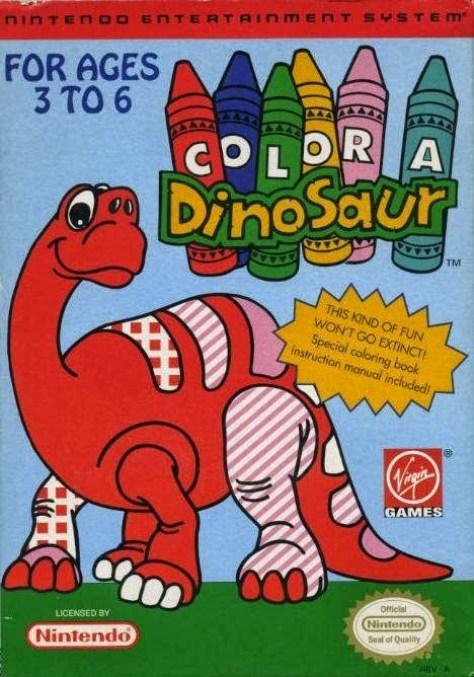 Color-a-Dinosaur