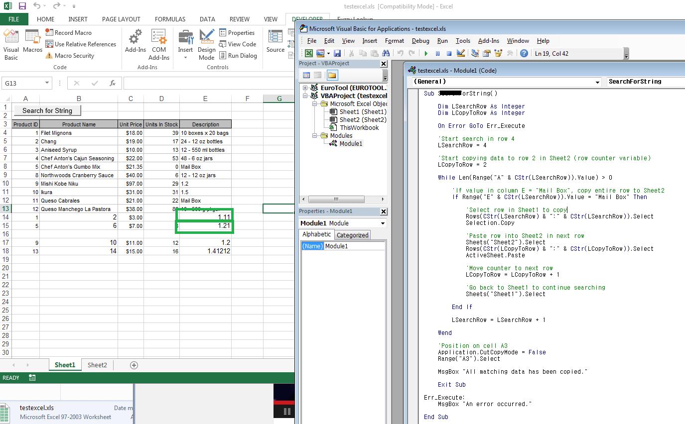 Excel Macro Format Number