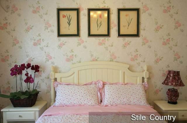 camera-da-letto-stile-country