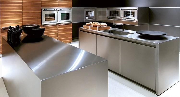 Piano lavoro cucina acciaio inox questioni di arredamento - Piano cucina acciaio ...