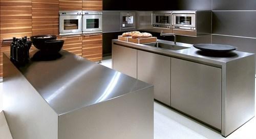 Piano lavoro cucina acciaio inox questioni di arredamento - Cucine in acciaio inox ...