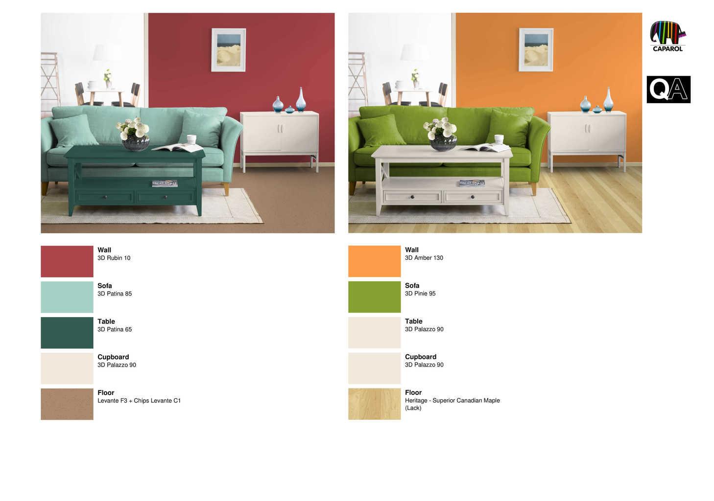 Best i colori come il rosso e luarancione sono ideali per - Che colore dare alle pareti di casa ...