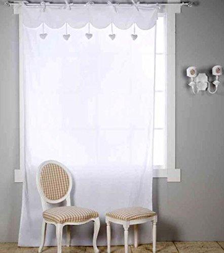 Scegliere le tende per interni questioni di arredamento - Immagini tende per cucina ...