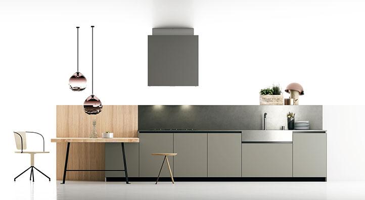 Scegliere i materiali della cucina.