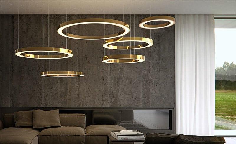 Come scegliere il lampadario in stile moderno