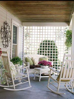 veranda shabby