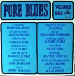 Pure Blues Volume 1 (1965), Sue Records (photo credit: www.discogs.com)