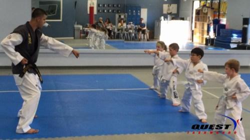 white belts with Master Gildo