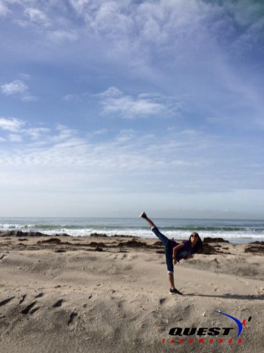 2Camille Casiles at Silver Strand State Beach in Coronado
