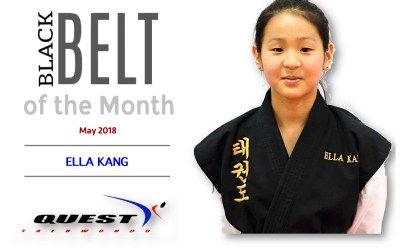 Black Belt of the Month: Ella Kang