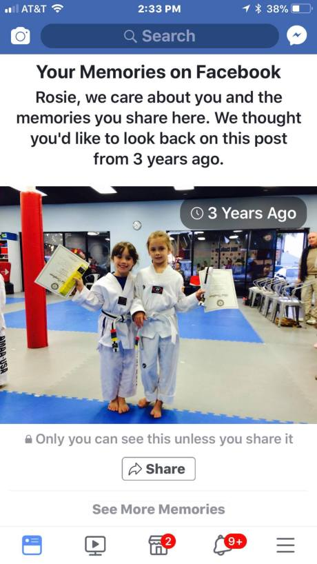 white belt 3 years ago