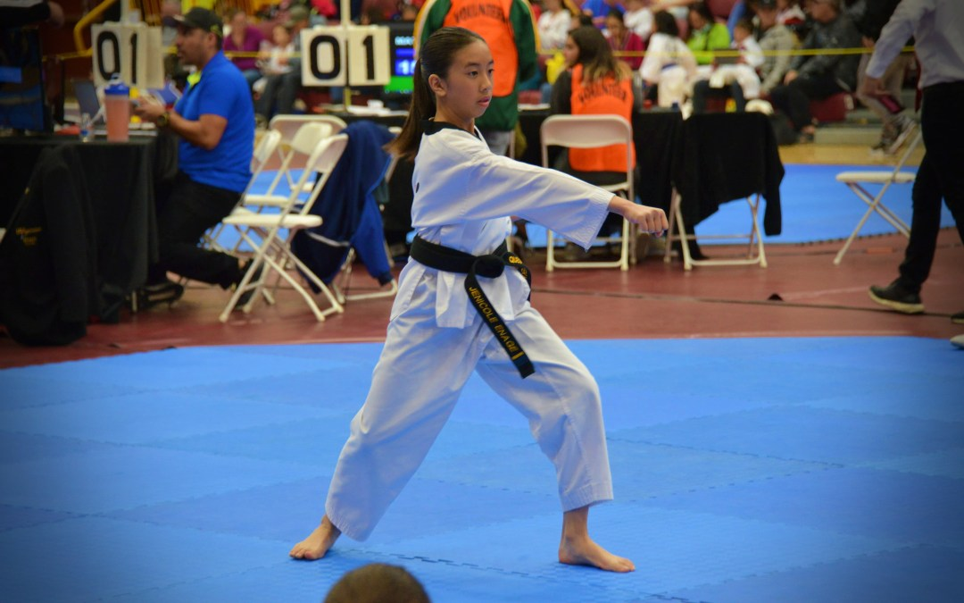 Black Belt of the Month: Jenicole Enage