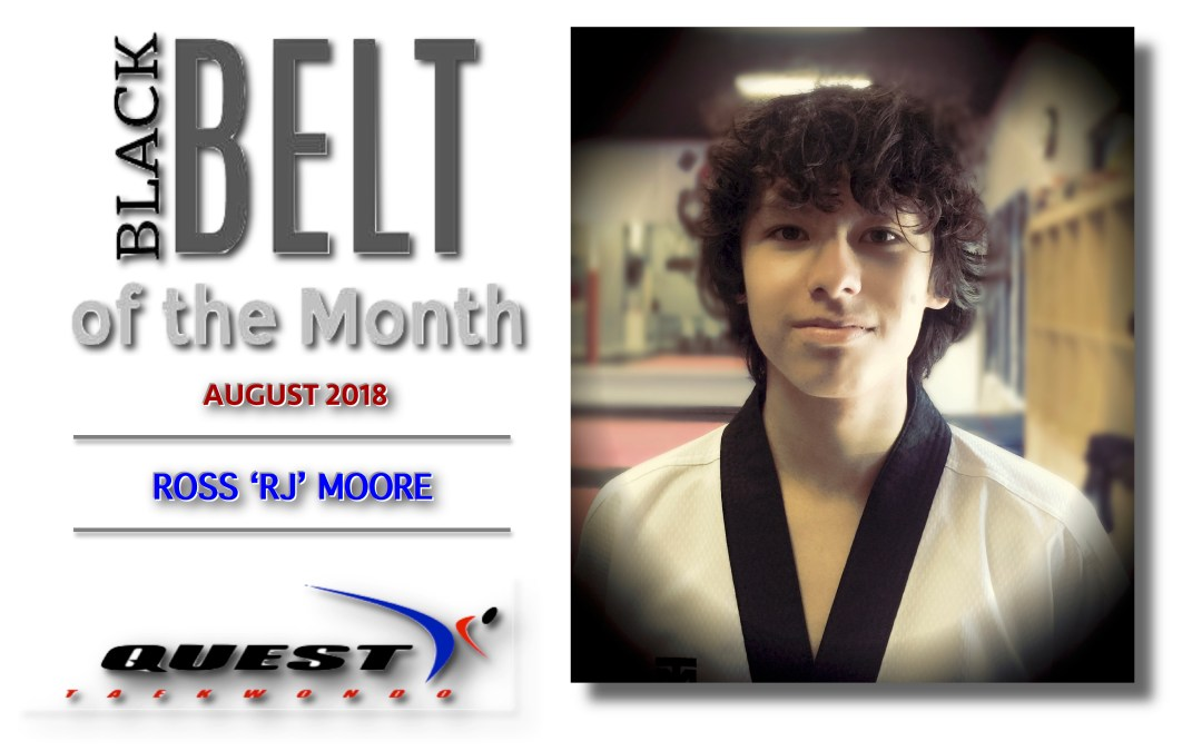 Black Belt of the Month: Ross Moore