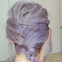 Lavender Unicorn Hair DIY