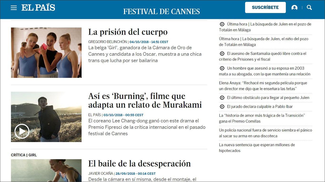 Періодичне видання El País як ресурс для самостійного вивчення іспанської мови