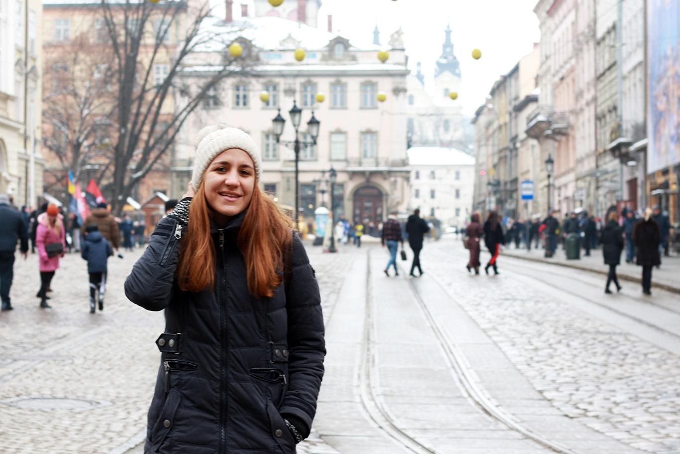 Лаура на Площі Ринок у Львові