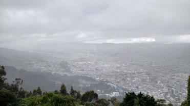 Clouds over Bogotá