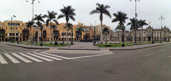 Lima Plaza de Armas Vista