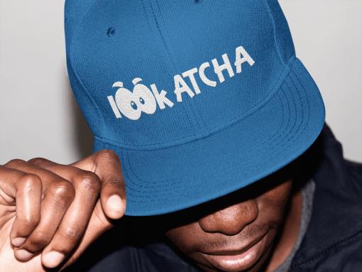 lookatcha blue cap