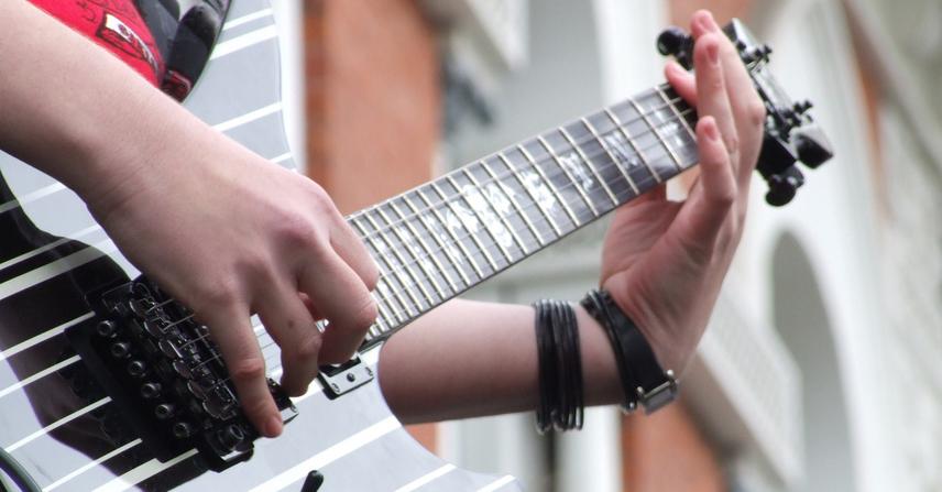 riff de guitarra