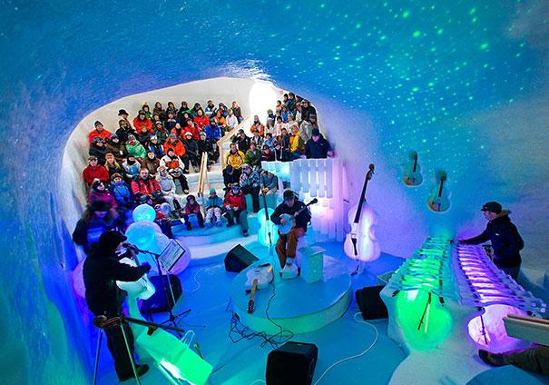 orquesta de hielo