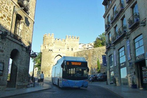 Autobús urbano de Toledo, cómo moverse por Toledo, transporte de Toledo