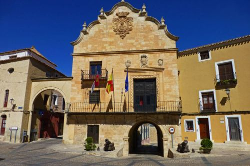 Casa Consistorial de Chinchilla de Montearagón en la Plaza de la Mancha