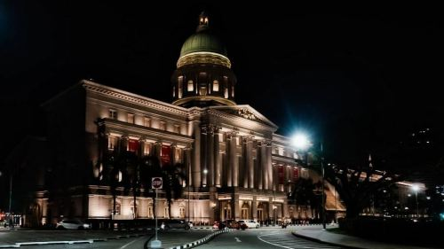 Edificio del Ayuntamiento de Singapur
