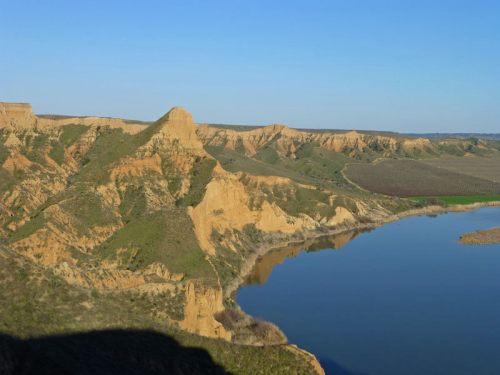 Barrancas de Burujón, una de las atracciones naturales en los alrededores de Toledo