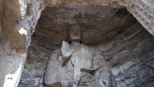 Buda en las Grutas de Yungang, qué ver cerca de Datong