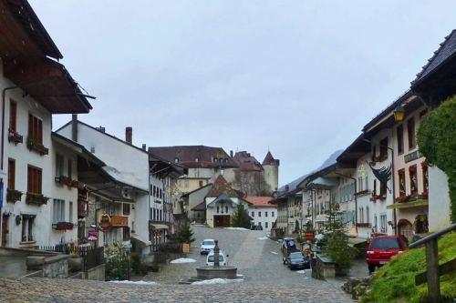 Gruyeres, uno de los pueblos más bonitos de Suiza