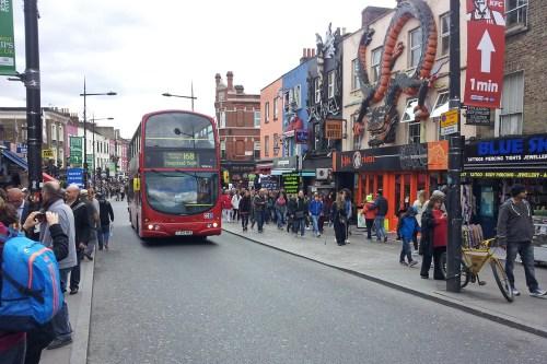 Barrio Camden Town, qué ver y hacer en Londres