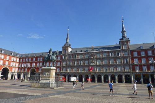 Plaza Mayor de Madrid, una de las más bellas de España