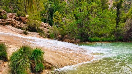 Salto de agua en las Chorreras de Abajo
