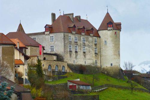 Castillo de Gruyeres, el monumento más visitado de la ciudad